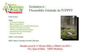 AG UFP 73 Tarentaise Vanoise @ Maison de la Coopération Intercommunale | Moutiers | Auvergne-Rhône-Alpes | France