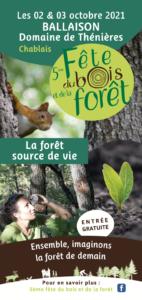 5ème fête du bois et de la forêt @ Domaine de Thénières | Ballaison | Auvergne-Rhône-Alpes | France